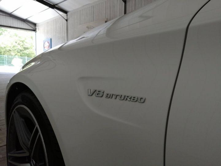 Mercedes Classe C 63 AMG 476 CV BVA Blanc - 18