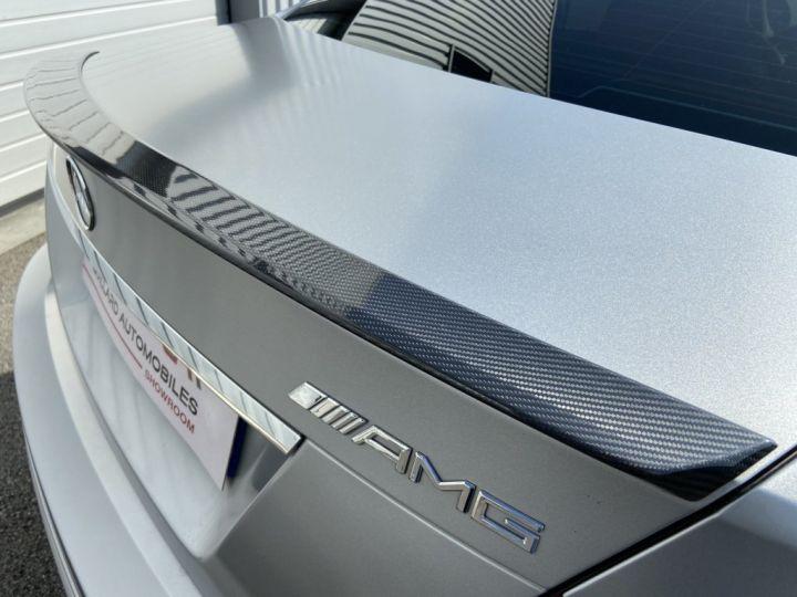Mercedes Classe C 63 AMG 6.2 V8 PACK PERFORMANCE 487ch BVA7 GRIS MAT - 9
