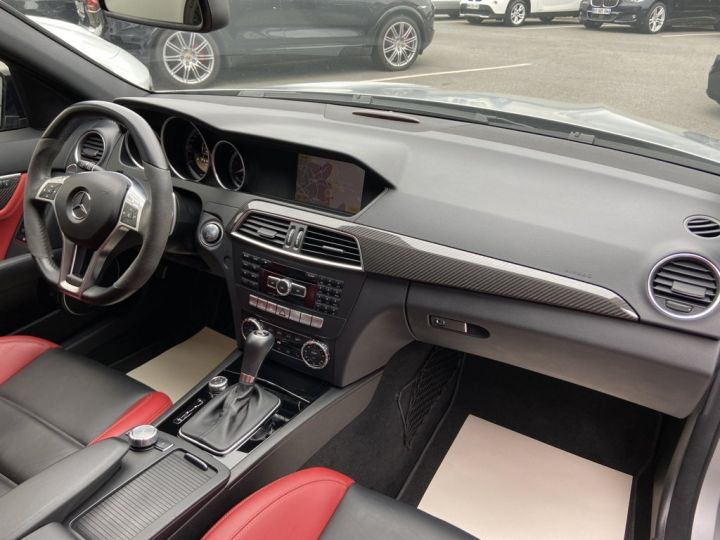 Mercedes Classe C 63 AMG 6.2 V8 PACK PERFORMANCE 487ch BVA7 GRIS MAT - 14