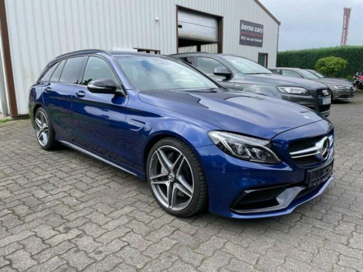 Mercedes Classe C 63 AMG T 4.0 V8 Biturbo / GPS / PHARE LED / GARANTIE 12 MOIS Bleu nuit - 2