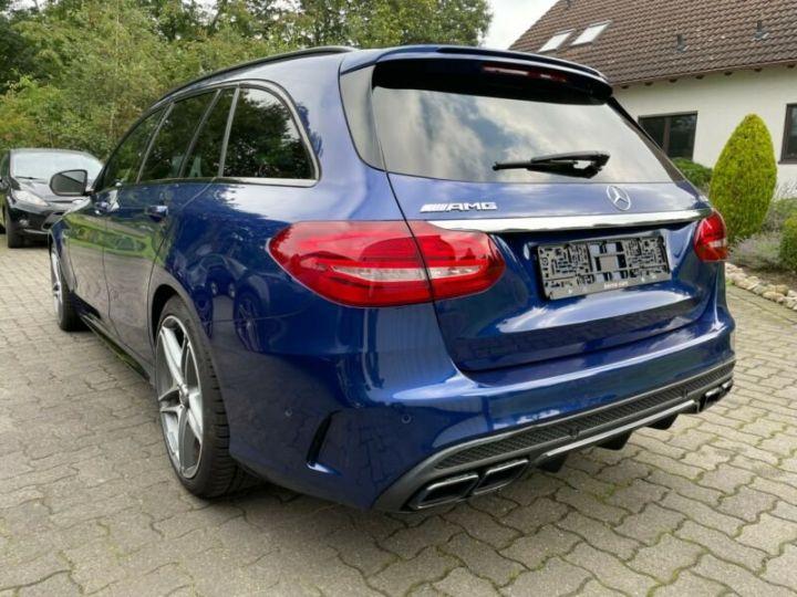 Mercedes Classe C 63 AMG T 4.0 V8 Biturbo / GPS / PHARE LED / GARANTIE 12 MOIS Bleu nuit - 5