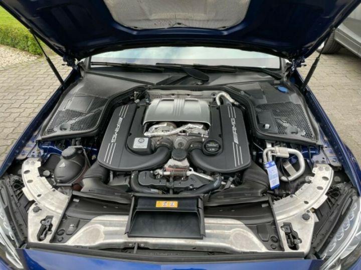 Mercedes Classe C 63 AMG T 4.0 V8 Biturbo / GPS / PHARE LED / GARANTIE 12 MOIS Bleu nuit - 11