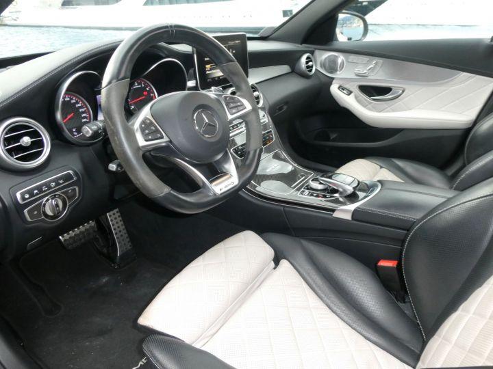 Mercedes Classe C 63 SW AMG S SPEEDSHIFT MCT Gris Métal Occasion - 18