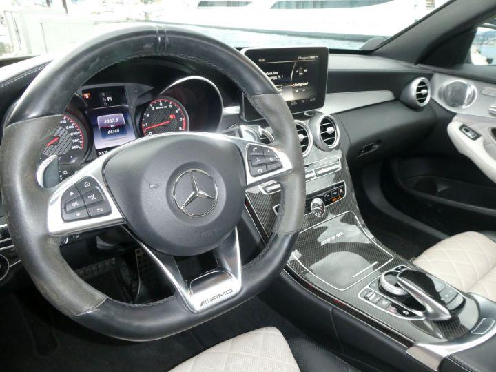 Mercedes Classe C 63 SW AMG S SPEEDSHIFT MCT Gris Métal Occasion - 19