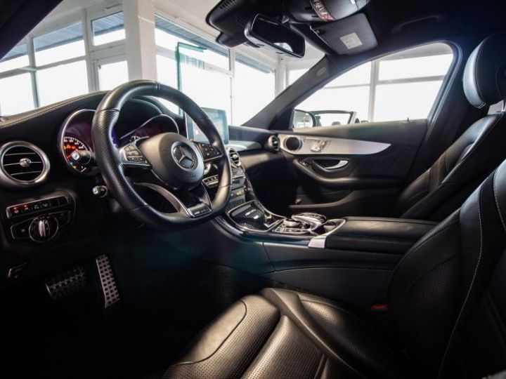 Mercedes Classe C AMG 63 AMG Gris métallisé - 5