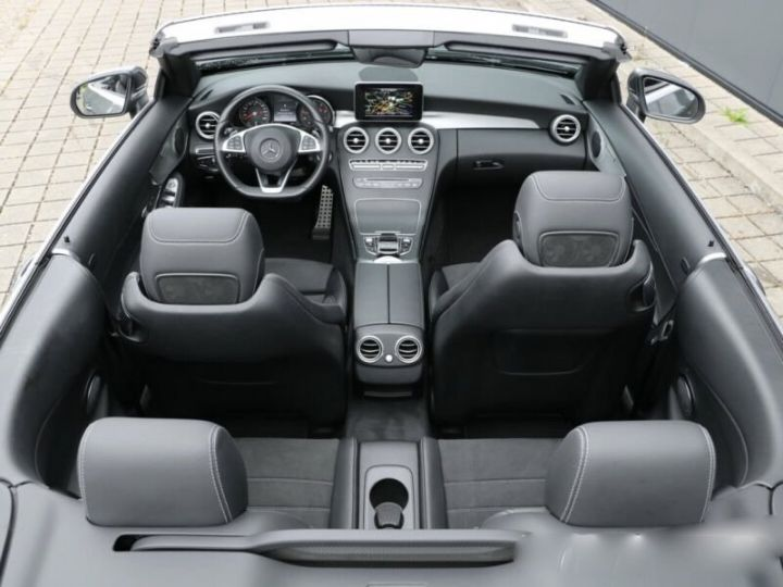 Mercedes Classe C C 220 d Cabrio  gris - 5
