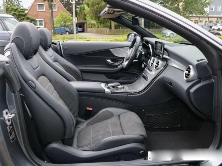 Mercedes Classe C C 220 d Cabrio  gris - 9