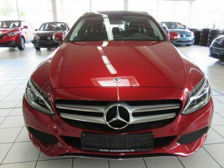 Mercedes Classe C #  C 220 d T 9G-Tronic Avantgarde Pano,Navi,LED Rouge Peinture métallisée - 2