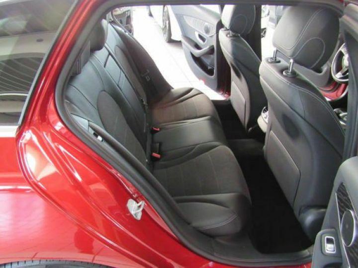 Mercedes Classe C #  C 220 d T 9G-Tronic Avantgarde Pano,Navi,LED Rouge Peinture métallisée - 10