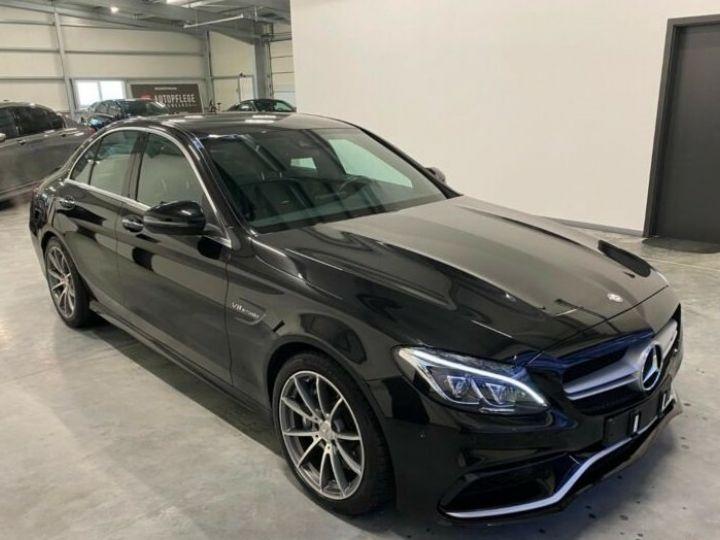Mercedes Classe C C 63 AMG  noire - 2