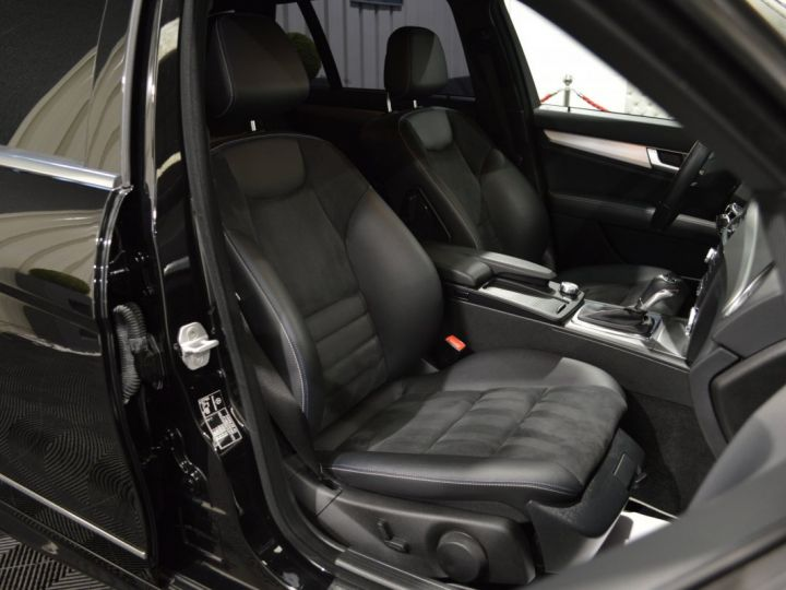 Mercedes Classe C C220 CDI SW W204 7G TRONIC 2.1l 170ch FINAL EDITION C AMG SUPERBE ETAT HISTO COMPLET NOIR - 11
