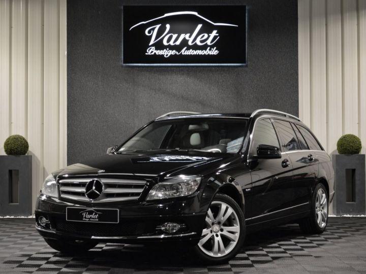 Mercedes Classe C C250 CDI SW W204 BVA 2.0l 204ch AVANTGARDE 2EME MAIN HISTORIQUE COMPLET SUPERBE ETAT noir obsidienne - 3