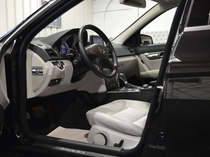 Mercedes Classe C C250 CDI SW W204 BVA 2.0l 204ch AVANTGARDE 2EME MAIN HISTORIQUE COMPLET SUPERBE ETAT noir obsidienne - 7