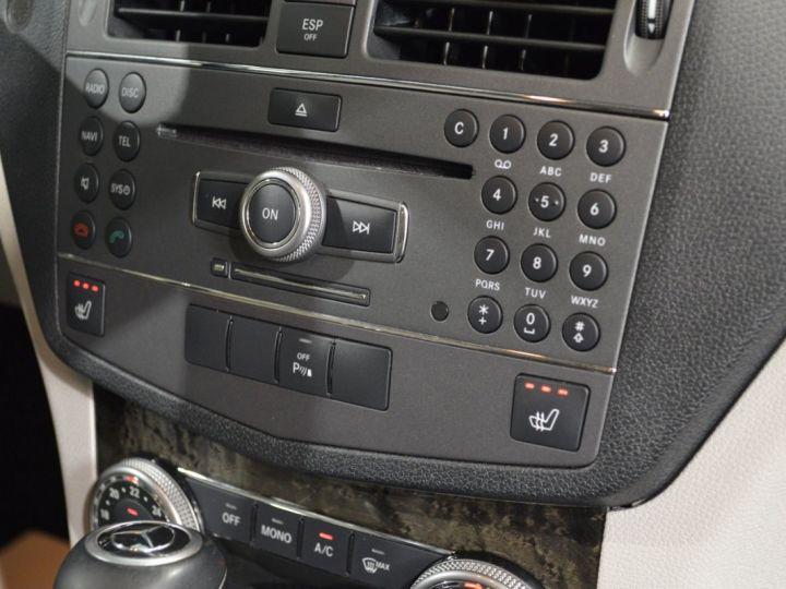 Mercedes Classe C C250 CDI SW W204 BVA 2.0l 204ch AVANTGARDE 2EME MAIN HISTORIQUE COMPLET SUPERBE ETAT noir obsidienne - 9