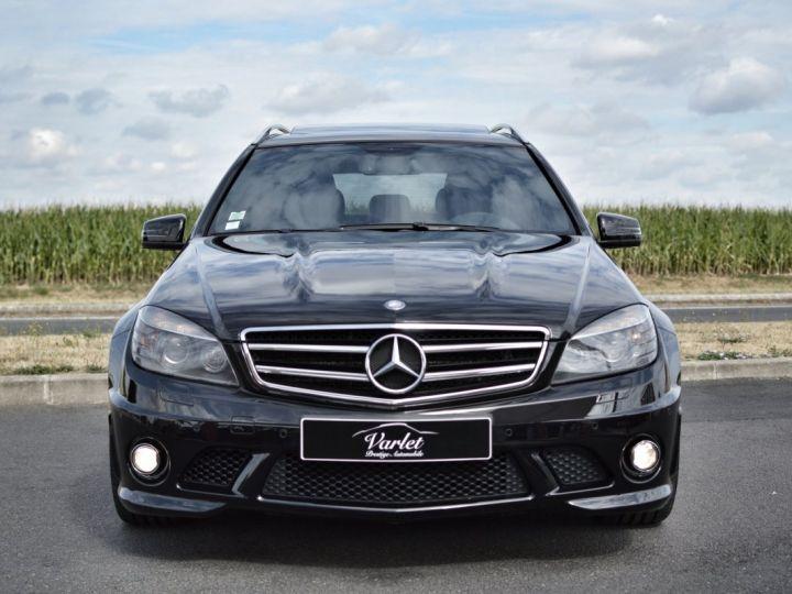 Mercedes Classe C C63 AMG W204 2EME MAIN HISTORIQUE FULL MERCEDES NOIR METAL - 2