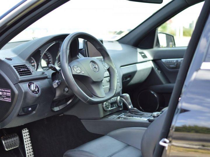 Mercedes Classe C C63 AMG W204 2EME MAIN HISTORIQUE FULL MERCEDES NOIR METAL - 7