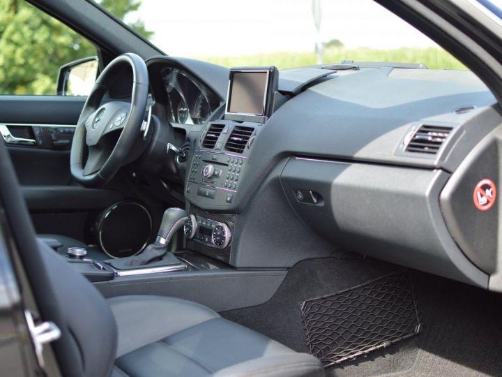 Mercedes Classe C C63 AMG W204 2EME MAIN HISTORIQUE FULL MERCEDES NOIR METAL - 11