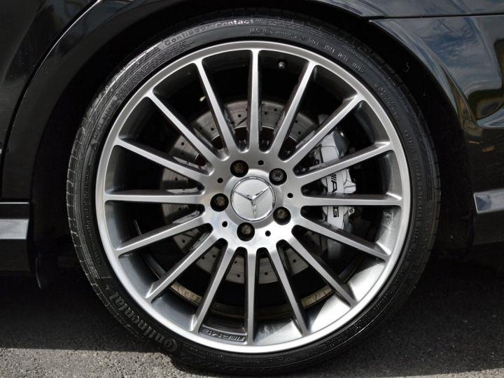 Mercedes Classe C C63 AMG W204 2EME MAIN HISTORIQUE FULL MERCEDES NOIR METAL - 20
