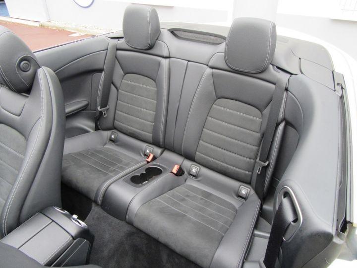 Mercedes Classe C CABRIOLET AMG LINE 200 HYBRIDE 184CH 9G-TRONIC Blanc Occasion - 7