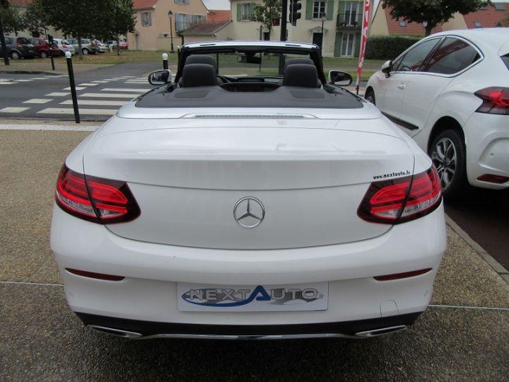 Mercedes Classe C CABRIOLET AMG LINE 200 HYBRIDE 184CH 9G-TRONIC Blanc Occasion - 13