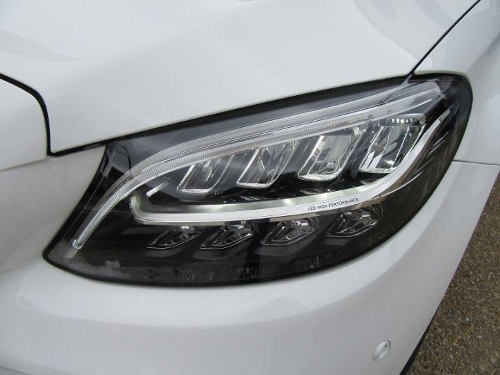 Mercedes Classe C CABRIOLET AMG LINE 200 HYBRIDE 184CH 9G-TRONIC Blanc Occasion - 14