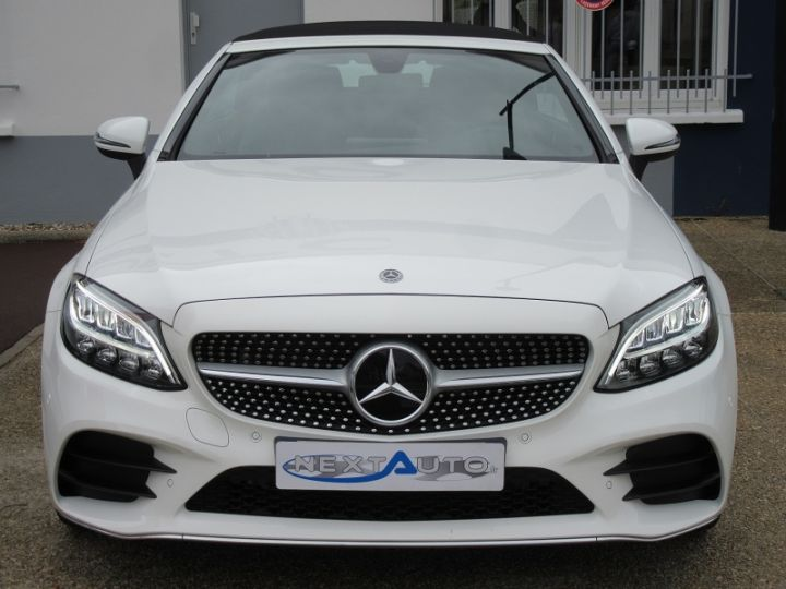 Mercedes Classe C CABRIOLET AMG LINE 200 HYBRIDE 184CH 9G-TRONIC Blanc Occasion - 20