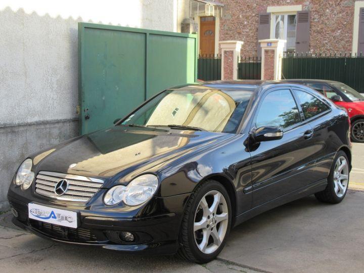 Mercedes Classe C Coupe Sport 180K SPORT EDITION NOIR Occasion - 1