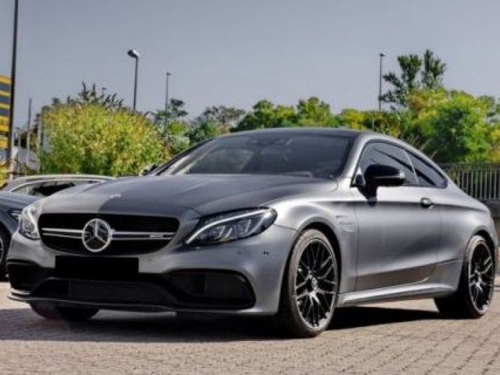Mercedes Classe C Coupe Sport C205 63 AMG S 510CH SPEEDSHIFT MCT GRIS Occasion - 1