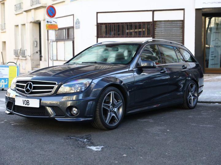 Mercedes Classe C MERCEDES C63 AMG SW 67300 KMS EN ETAT NEUF VMAX 280KMH Gris Tenorite - 1