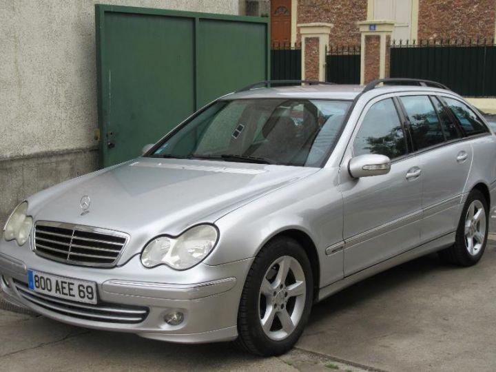 Mercedes Classe C S203 220 CDI AVANTGARDE LUXE BA GRIS CLAIR Occasion - 1