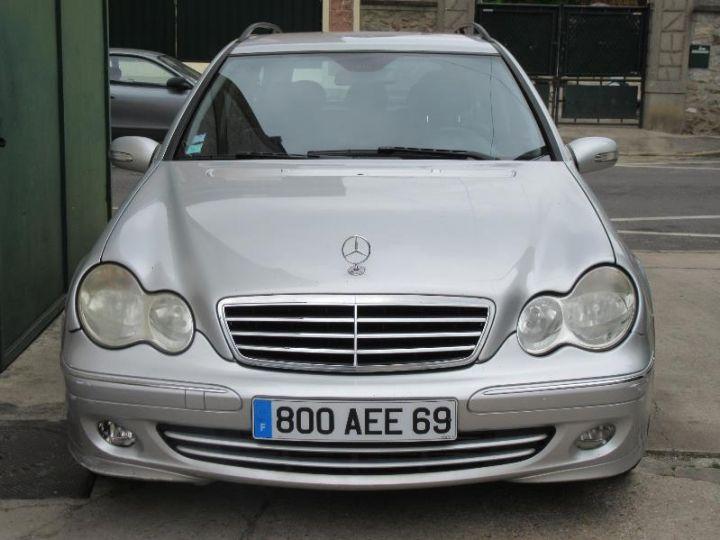 Mercedes Classe C S203 220 CDI AVANTGARDE LUXE BA GRIS CLAIR Occasion - 6