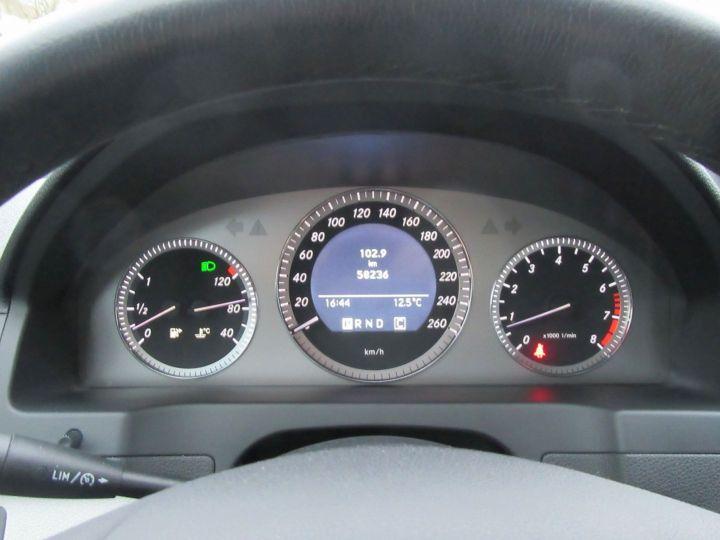 Mercedes Classe C (W204) 200K AVANTGARDE BA Gris Fonce - 18