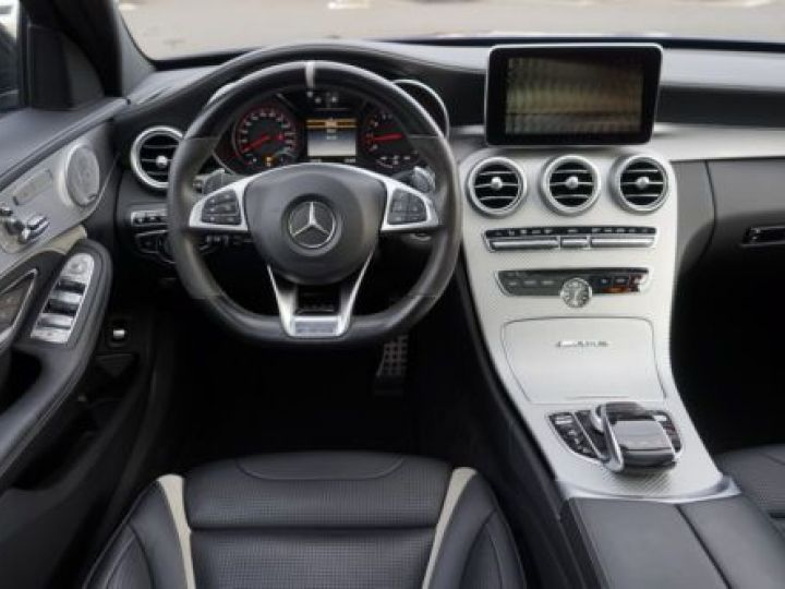 Mercedes Classe C W205 63 AMG SPEEDSHIFT MCT AMG BLEU Occasion - 2