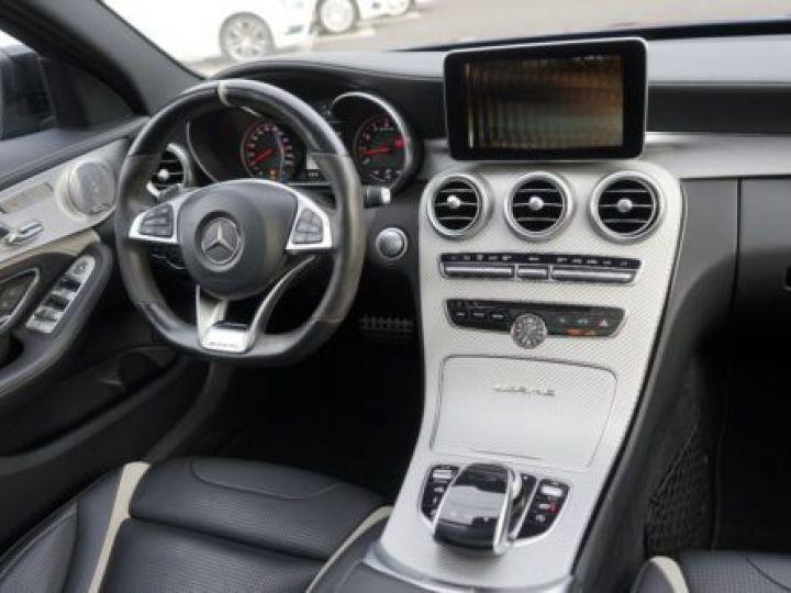 Mercedes Classe C W205 63 AMG SPEEDSHIFT MCT AMG BLEU Occasion - 3