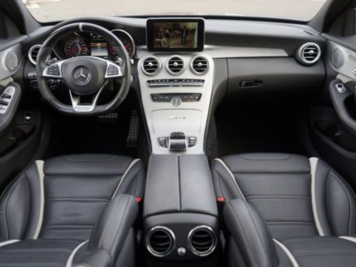 Mercedes Classe C W205 63 AMG SPEEDSHIFT MCT AMG BLEU Occasion - 12