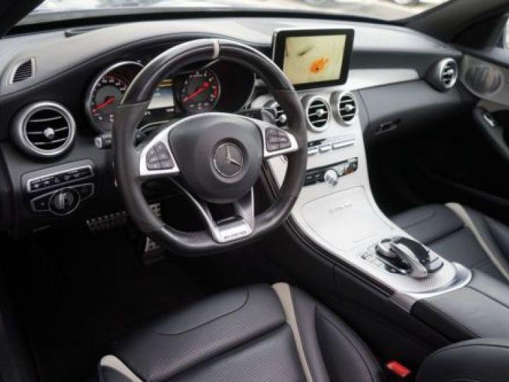 Mercedes Classe C W205 63 AMG SPEEDSHIFT MCT AMG BLEU Occasion - 13