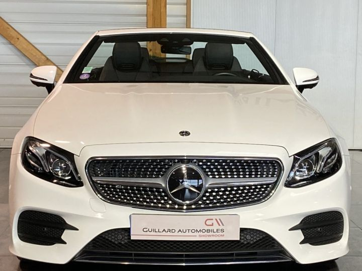 Mercedes Classe E 200 CABRIOLET SPORTLINE 184ch 9G-TRONIC BLANC - 2