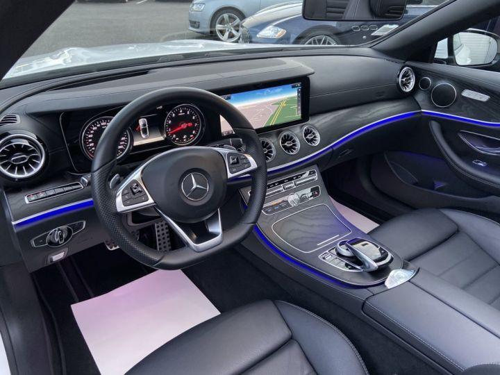 Mercedes Classe E 200 CABRIOLET SPORTLINE 184ch 9G-TRONIC BLANC - 11