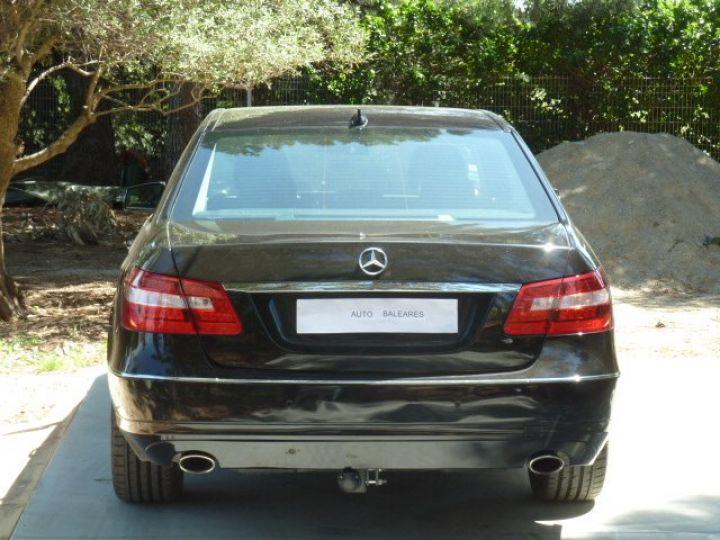 Mercedes Classe E 300 CDI 7 G-TRONIC NOIR OBSYDIENNE METALLISE - 7