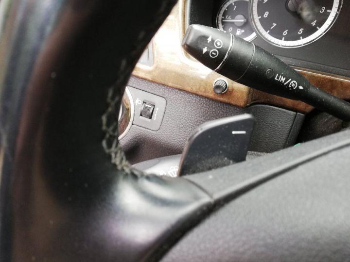 Mercedes Classe E 300 CDI 7 G-TRONIC NOIR OBSYDIENNE METALLISE - 21
