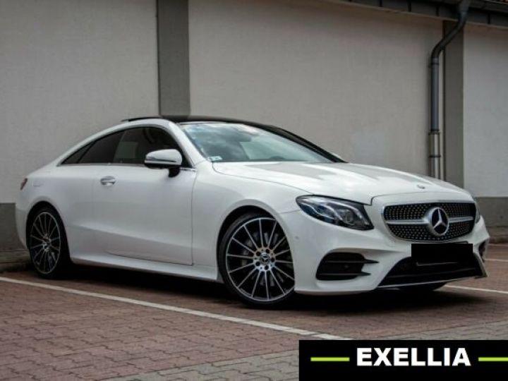 Mercedes Classe E 300 d 4M Coupé AMG BLANC PEINTURE METALISE  Occasion - 2