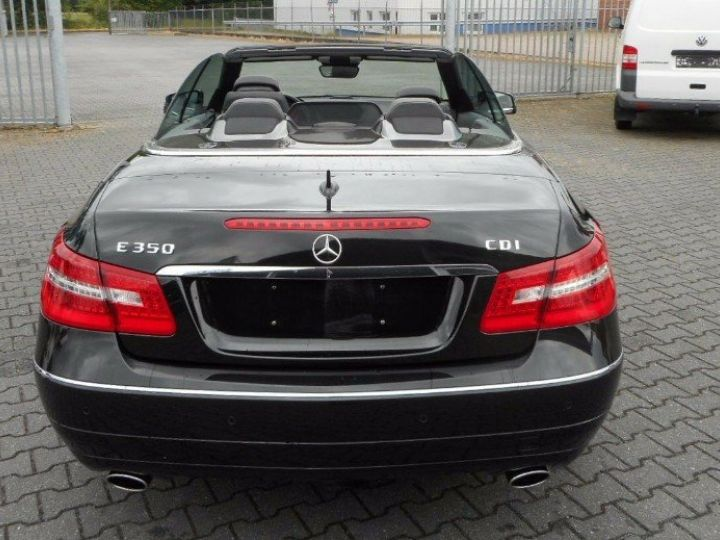Mercedes Classe E 350 CDI BLUEEFFICIENCY, BA7 7G-TRONIC noir métal - 6