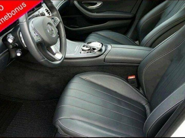 Mercedes Classe E 350 D 4-Matic 258 9G-TRONIC  (06/2018) blanc - 9