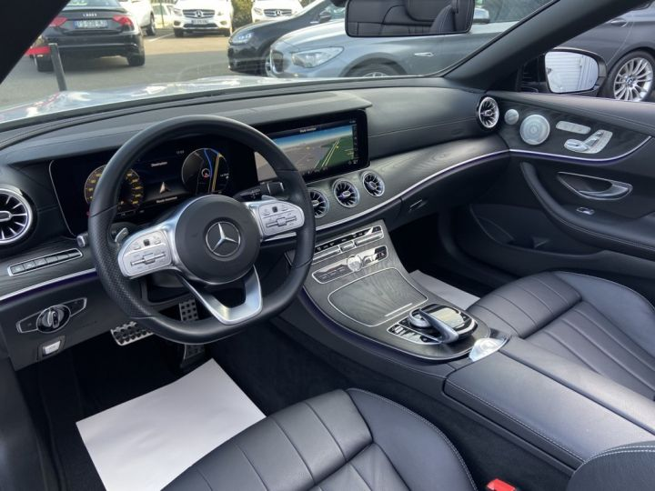 Mercedes Classe E 400 D CABRIOLET 340ch AMG-LINE 4MATIC 9G-TRONIC Gris Clair - 13