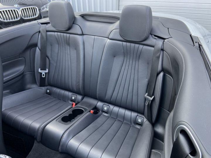 Mercedes Classe E 400 D CABRIOLET 340ch AMG-LINE 4MATIC 9G-TRONIC Gris Clair - 19