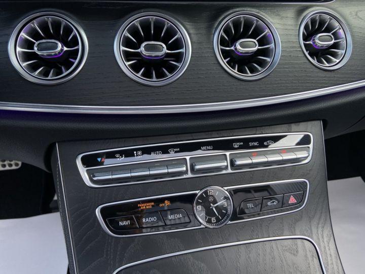Mercedes Classe E 400 D CABRIOLET 340ch AMG-LINE 4MATIC 9G-TRONIC Gris Clair - 21
