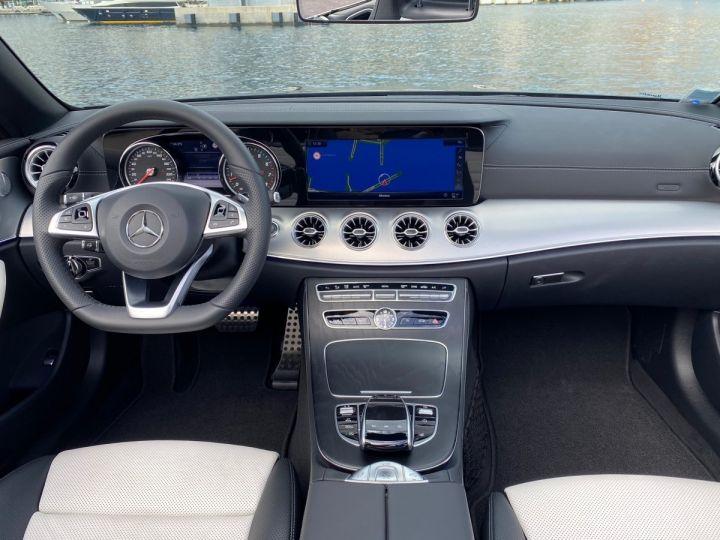 Mercedes Classe E 400 V6 3.0 4-MATIC AMG LINE CABRIOLET 333 CV BVA9 - MONACO Noir Obsidienne Métal - 7