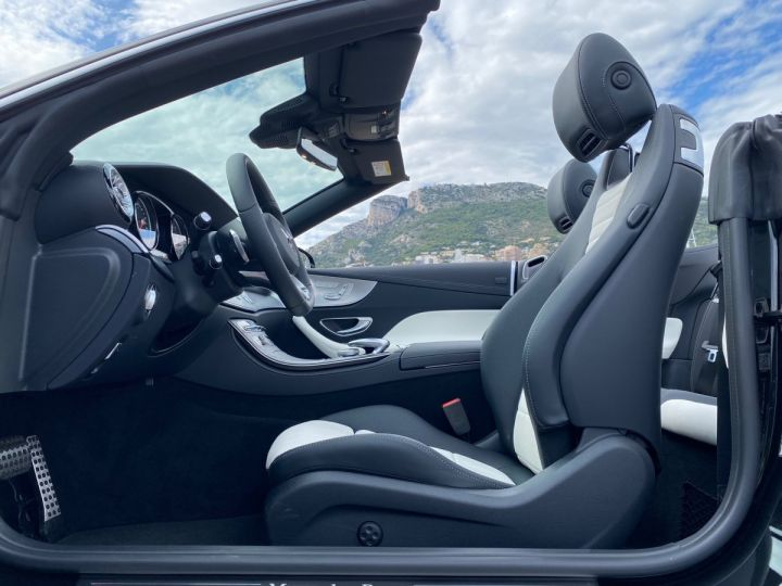 Mercedes Classe E 400 V6 3.0 4-MATIC AMG LINE CABRIOLET 333 CV BVA9 - MONACO Noir Obsidienne Métal - 8