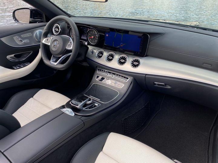 Mercedes Classe E 400 V6 3.0 4-MATIC AMG LINE CABRIOLET 333 CV BVA9 - MONACO Noir Obsidienne Métal - 14