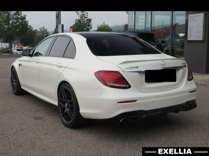 Mercedes Classe E 63 S AMG 4MATIC +  BLANC PEINTURE METALISE  Occasion - 1